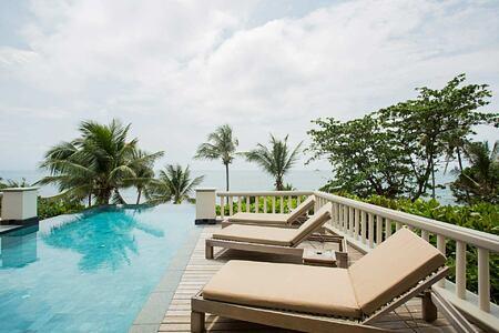 Ocean Front Pool Villa at Trisara Phuket Thailand
