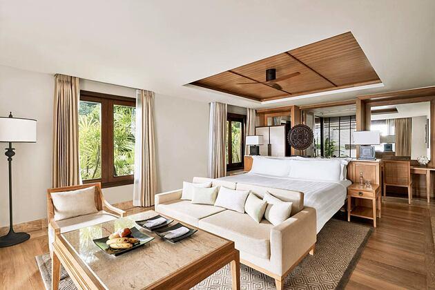 Ocean View Pool Junior Suite at Trisara Phuket Thailand