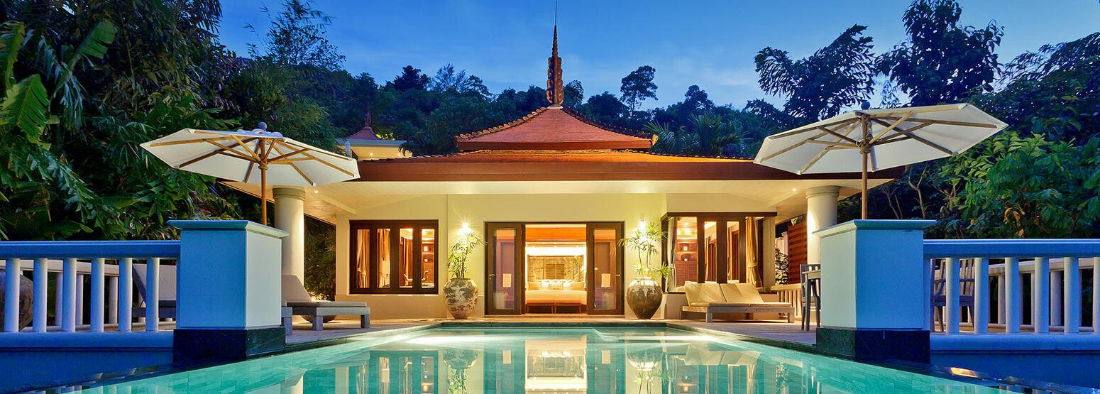 Ocean View Pool Villa at Trisara Phuket Thailand