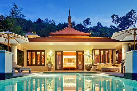Ocean View Pool Villa at Trisara Phuket Thailand