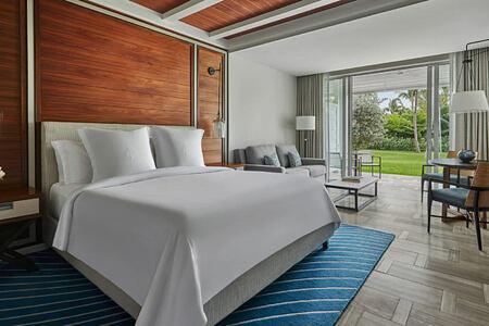Ocean view room at Four Seasons Ocean Club Bahamas