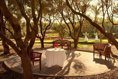 Olive grove circle at Kempinski San Lawrenz Malta