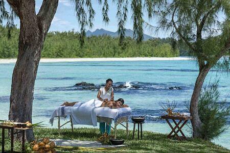 Outdoor Spa Massage at Le Touessrok Mauritius
