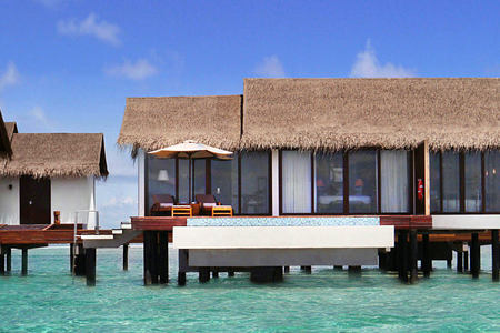 Over Water pool villas one bedroom at The Residence Maldives