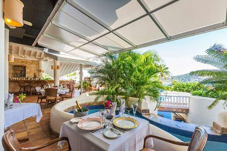 Piccolo Restaurant at St James Club and Villas Antigua