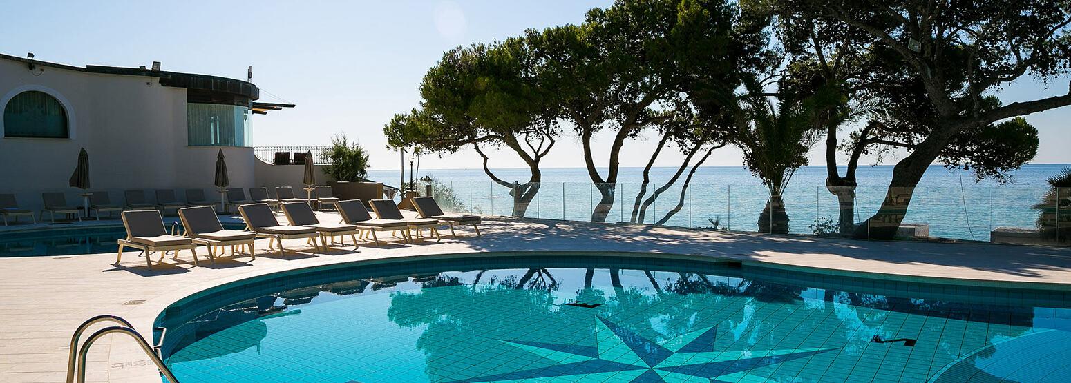 Pool at Forte Village Hotel Castello Sardinia Italy
