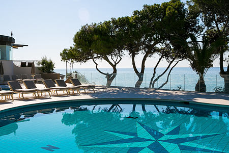 Pool at Forte Village Hotel Castello Sardinia Italy