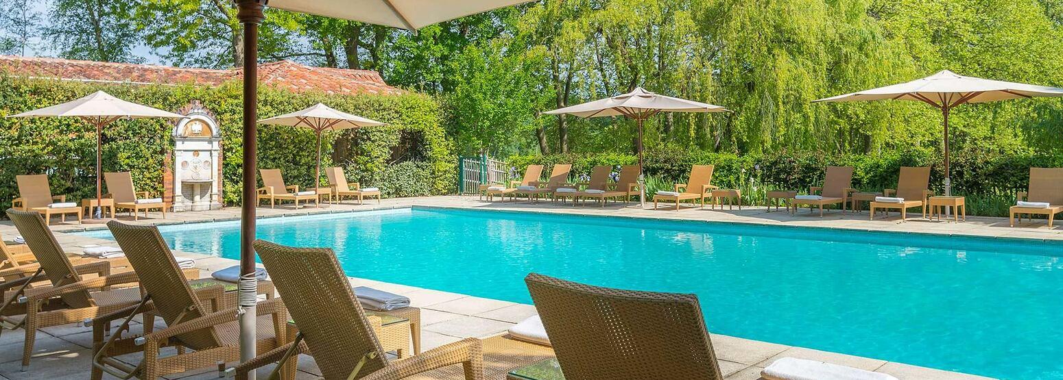 Pool at Les Pres dEugenie France