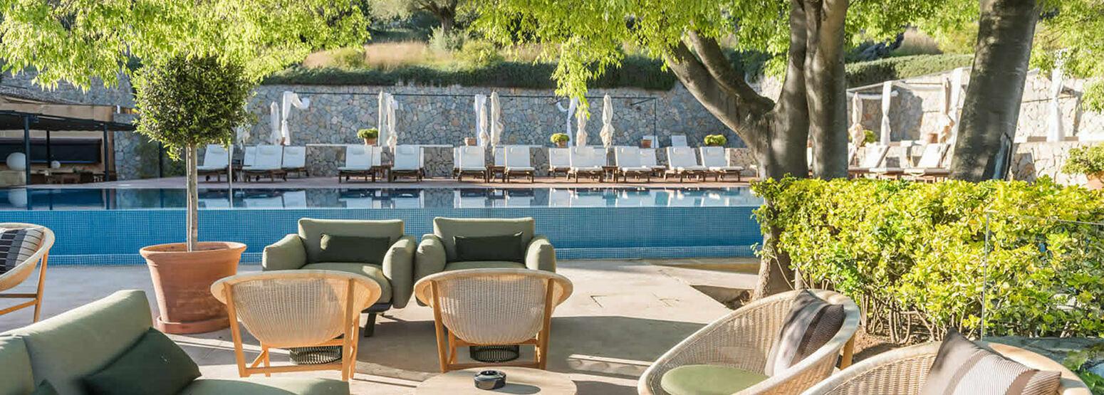 Pool at Son Brull Majorca Spain