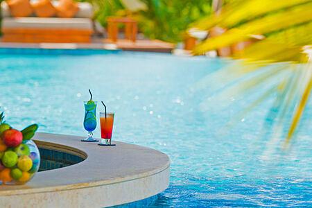 Pool bar at The Residence Maldives