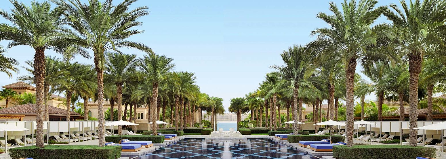 Pools at One and Only The Palm Dubai