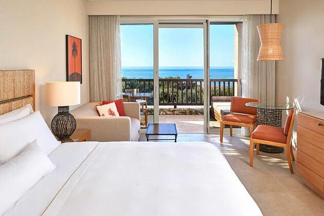 Premium Deluxe room at Westin Resort Costa Navarino Greece