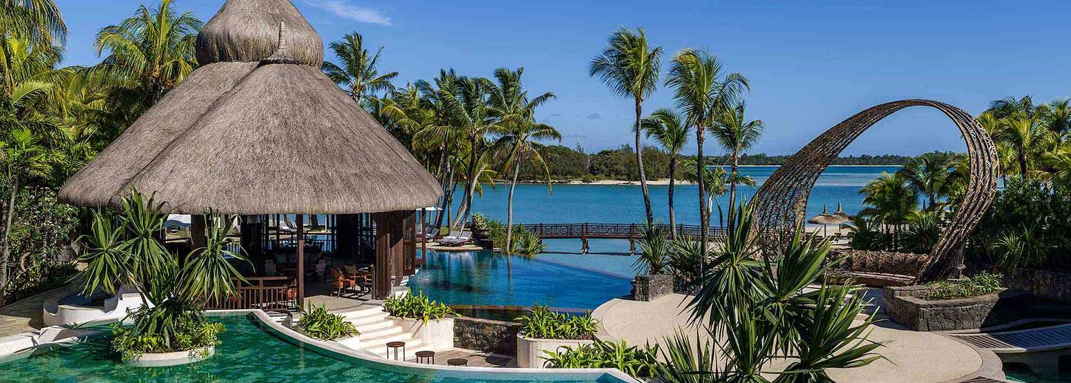 Resort Overview at Le Touessrok Mauritius