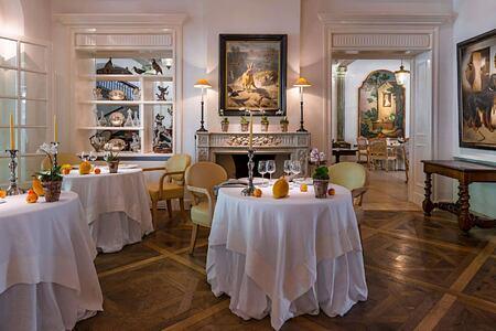 Restaurant at Les Pres dEugenie France