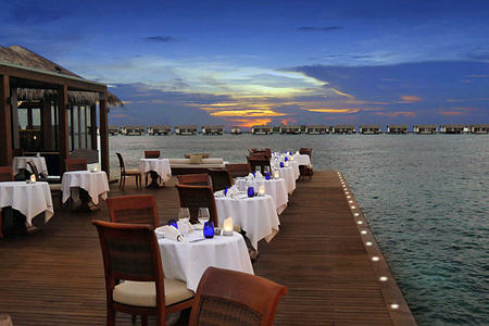 Restaurant at The Residence Maldives