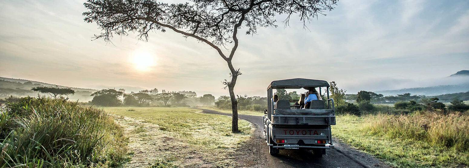 Safari drive at Karkloof Safari Spa KZN South Africa