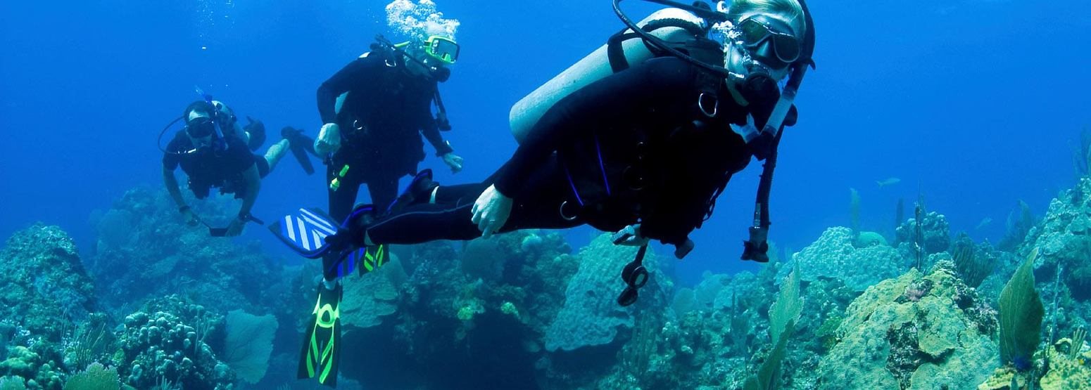 Scuba diving at St James Club and Villas Antigua