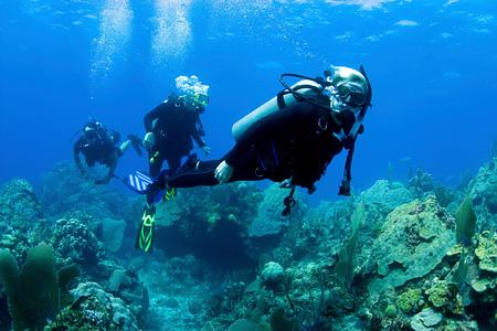 Scuba diving at St James Club and Villas Antigua