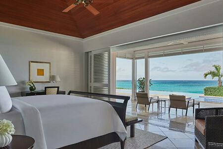 Seaview from bedroom at Four Seasons Ocean Club Bahamas
