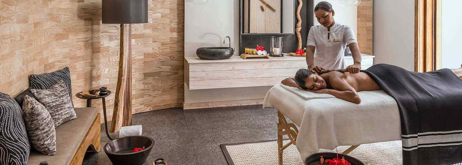 Spa Treatment Room at Le Touessrok Mauritius