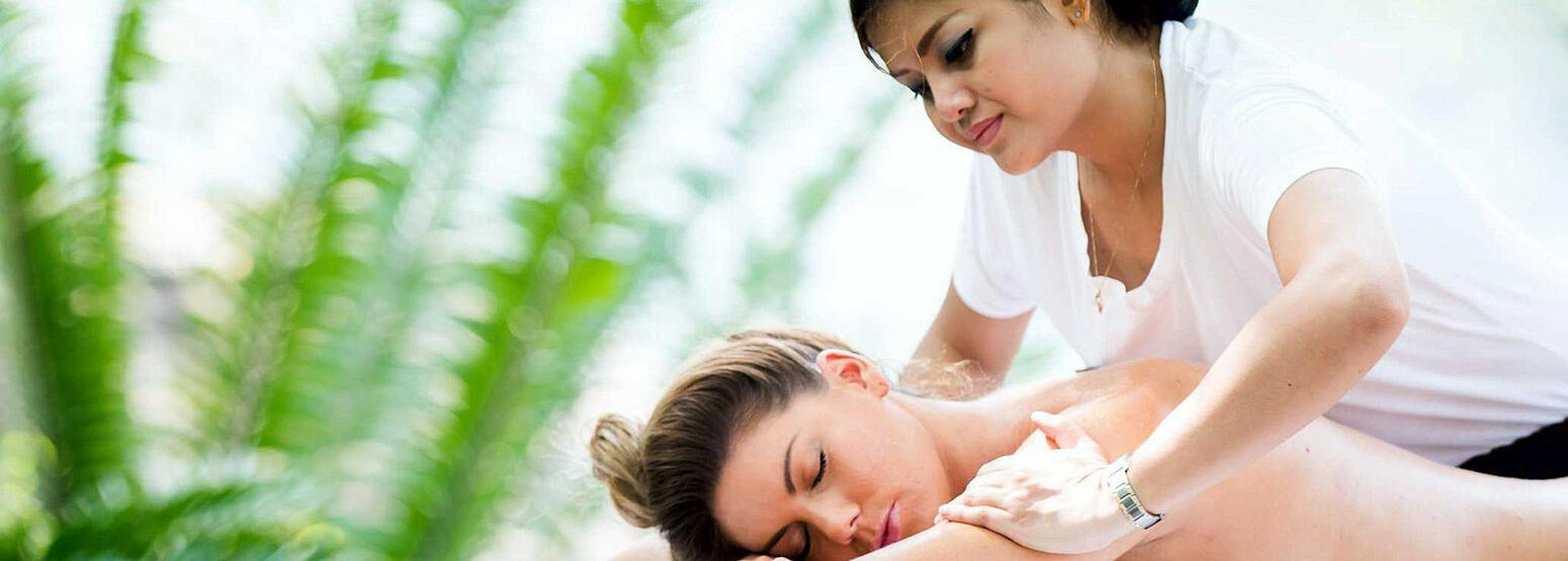 Spa massage at Karkloof Safari Spa KZN South Africa