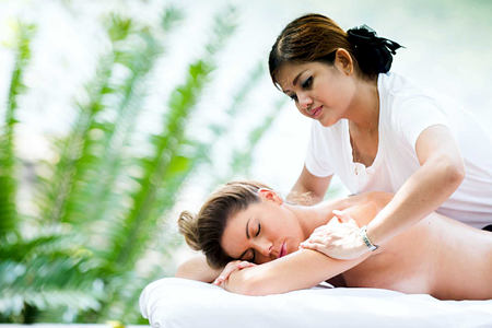Spa massage at Karkloof Safari Spa KZN South Africa