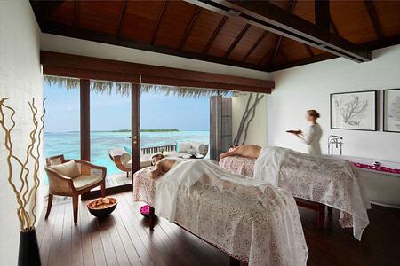Spa treatments at The Residence Maldives