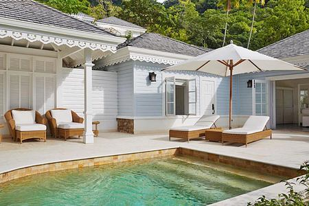 Superior luxury cottage at Sugar Beach St Lucia