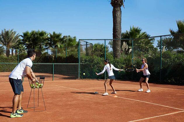 Tennis at Mazagan Beach Resort Morocco