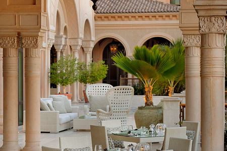 Terrace at One and Only The Palm Dubai