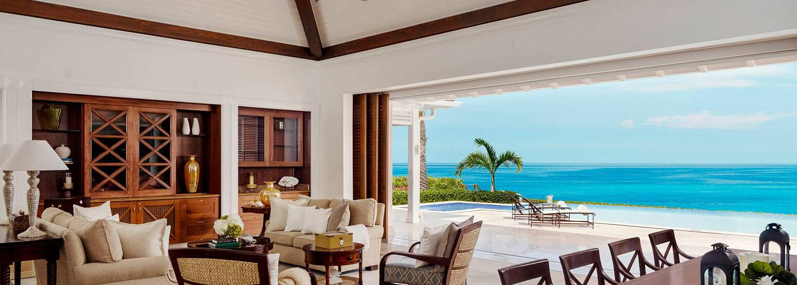 Three bedroom villa at Four Seasons Ocean Club Bahamas