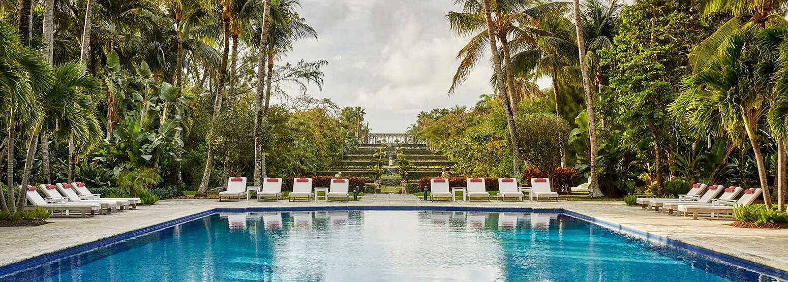 Versailles Pool at Four Seasons Ocean Club Bahamas