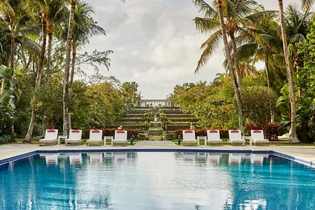 Versailles Pool at Four Seasons Ocean Club Bahamas