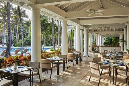 Versailles Terrace at Four Seasons Ocean Club Bahamas