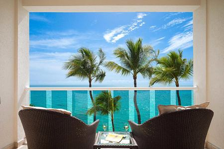 View from bedroom at Waves Hotel and Spa Barbados