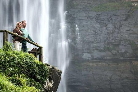Waterfall at Karkloof Safari Spa KZN South Africa
