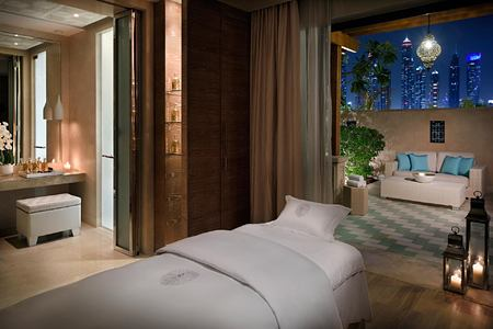 Wellness Spa Guerlain Treatment Room at One and Only The Palm Dubai
