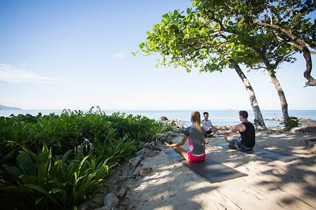 Yoga at Trisara Phuket Thailand