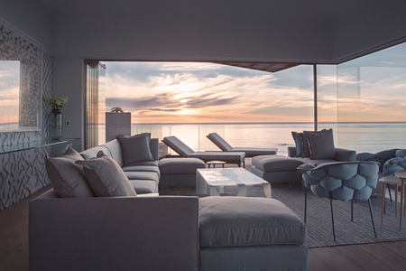 Bantry Bay Lounge and view