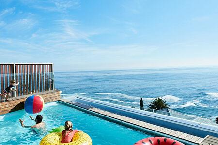 Bantry Bay Villa family fun in the pool
