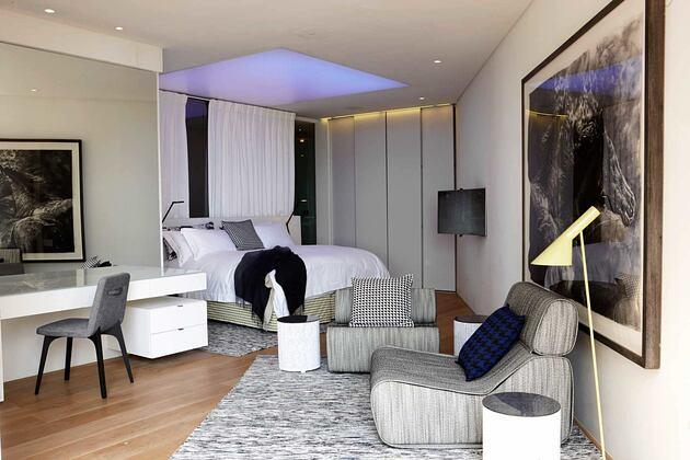Bantry Bay bedroom