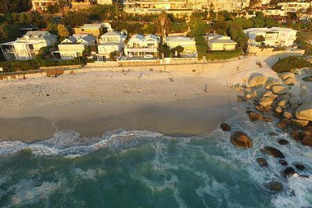 Glen Beach Villa aerial view