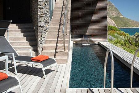 Llandudno Beach Villa pool deck banner image