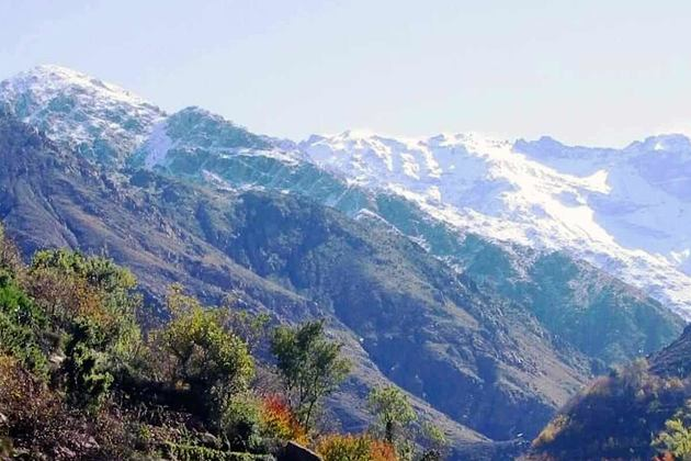 On the way to Imlil mountains at La Roseraie Hotel Morocco