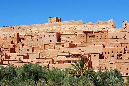 Casbah at Ouarzazate Morocco