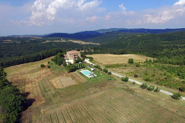 Locanda Cugnanello, Tuscany, Italy