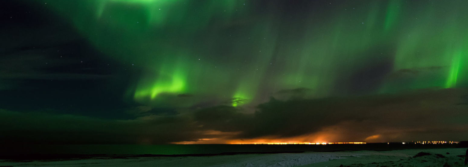 Northern Lights in Northern Iceland