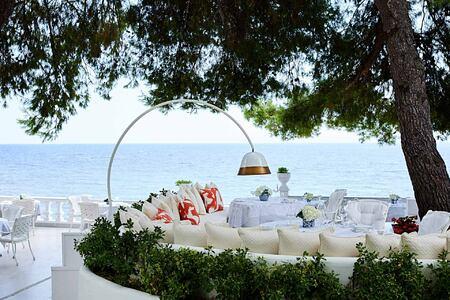 Andromeda Restaurant at the Danai Beach Resort Greece