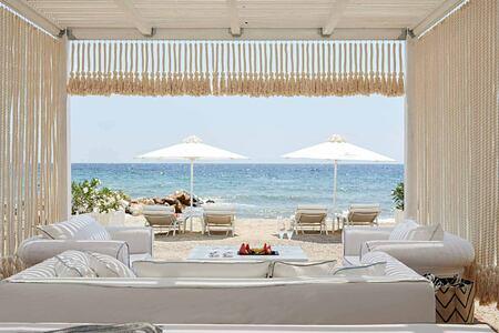 Beach Cabana at the Danai Beach Resort Greece