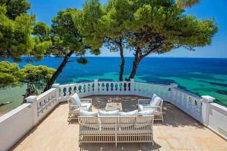 Mandarin Villa Terrace at the Danai Beach Resort Greece